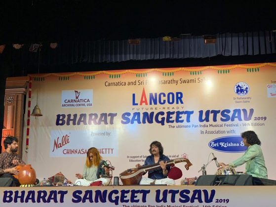 L.Shankar & Rajhesh Vaidhya on Nov 5th at Bharat Sangeet Utsav (Narada Gana Sabha, Chennai)
