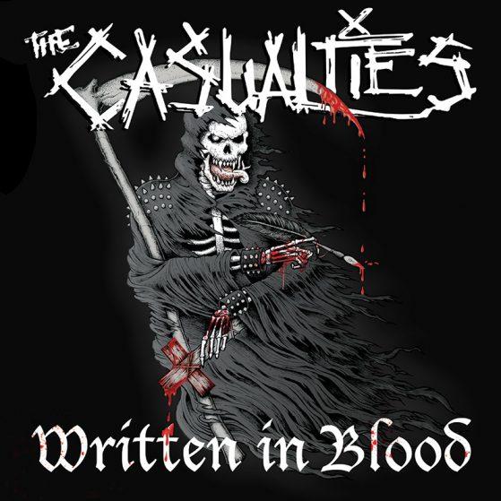 THE CASUALTIES – WRITTEN IN BLOOD