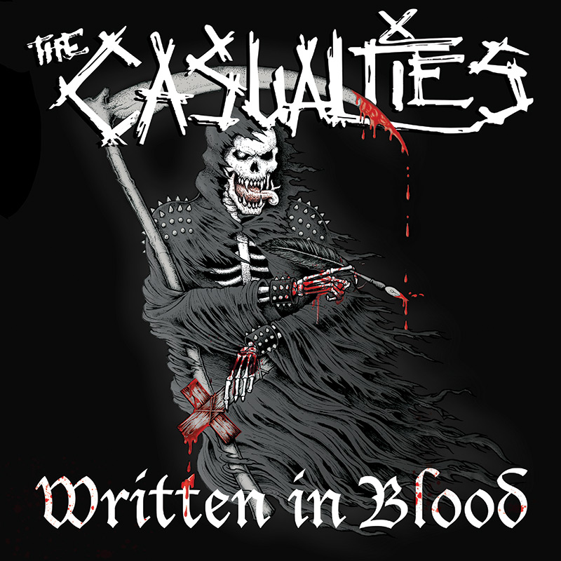 THE CASUALTIES – WRITTEN IN BLOOD