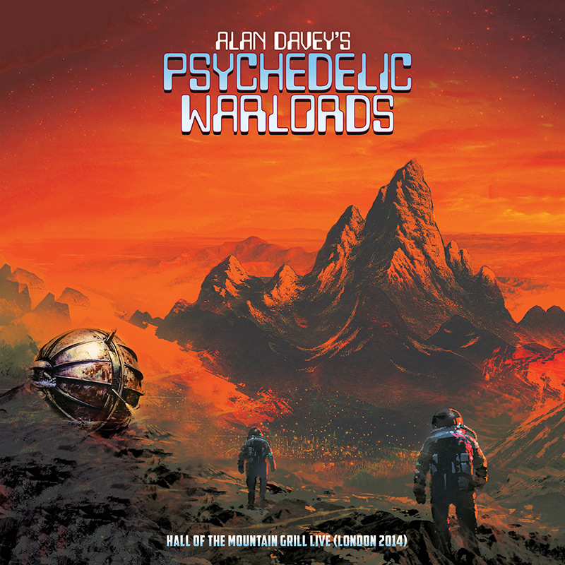 Alan Davey's Psychedelic Warlords - Hall of the Mountain Grill Live