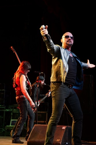 Queensryche featuring Geoff Tate in concert, April 14, 2013, Tempe, AZ