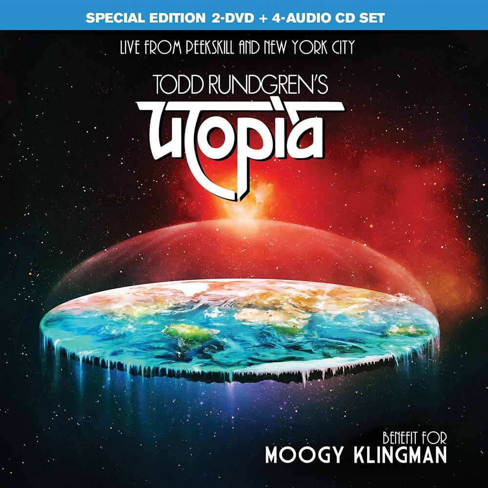 TODD RUNDGREN'S UTOPIA – BENEFIT FOR MOOGY KLINGMAN