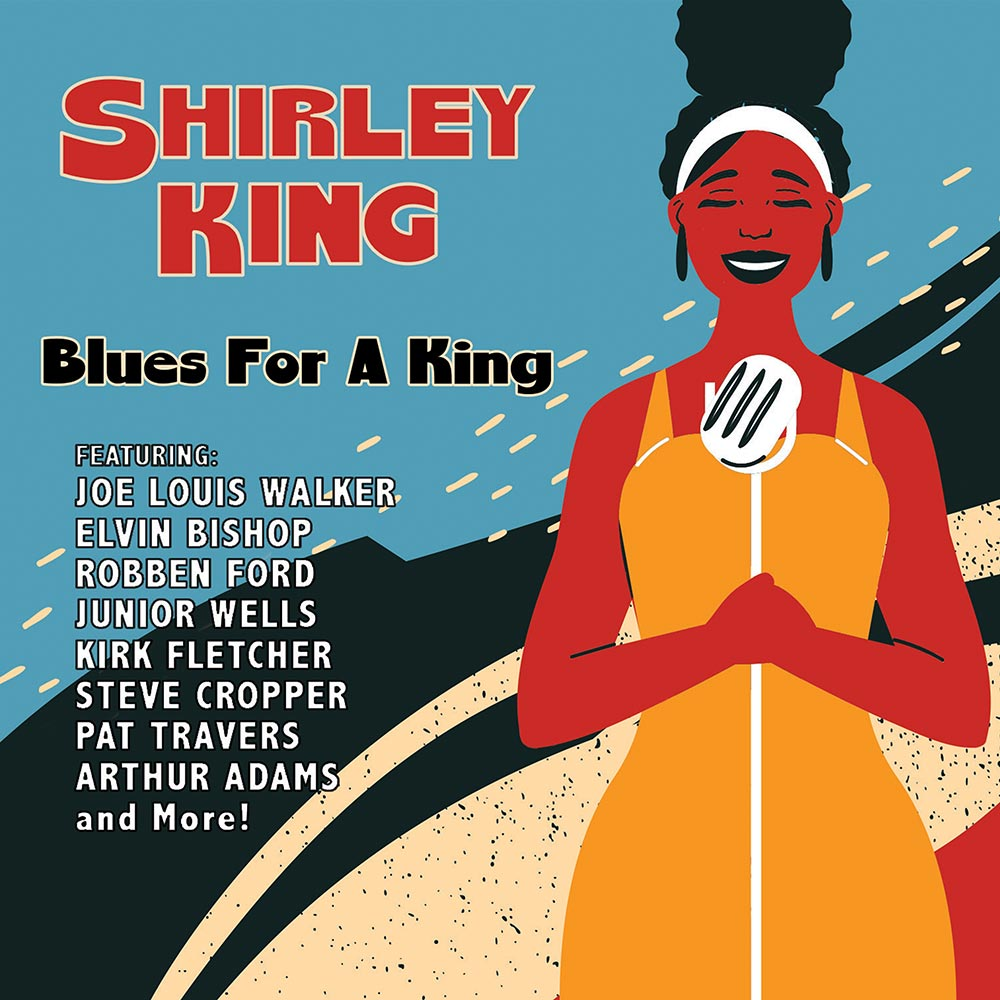 SHIRLEY KING – BLUES FOR A KING