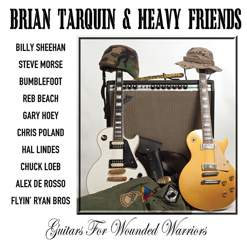 Brian Tarquin & Heavy Friends – Guitars For Wounded Warriors