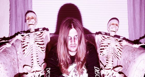 "GGOOLLDD's Nicholas Schubert taps into his ""goth rock"" side with BLOOD"