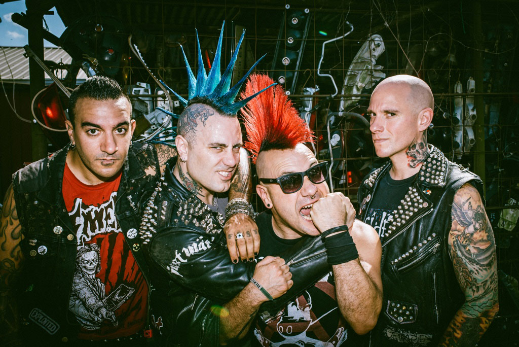 The Casualties Announce Live Studio Album 'Until Death: Studio Sessions' Out October 25th