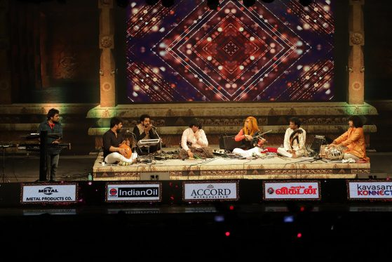 L . SHANKAR performing on Jan 13th 2020 Abbas Cultural Music Festival
