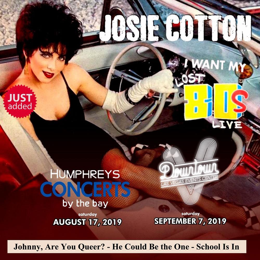 Josie Cotton - September 7 2019