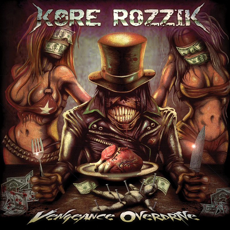 Cleopatra Records signs Notorious NY metal heroes Kore Rozzik