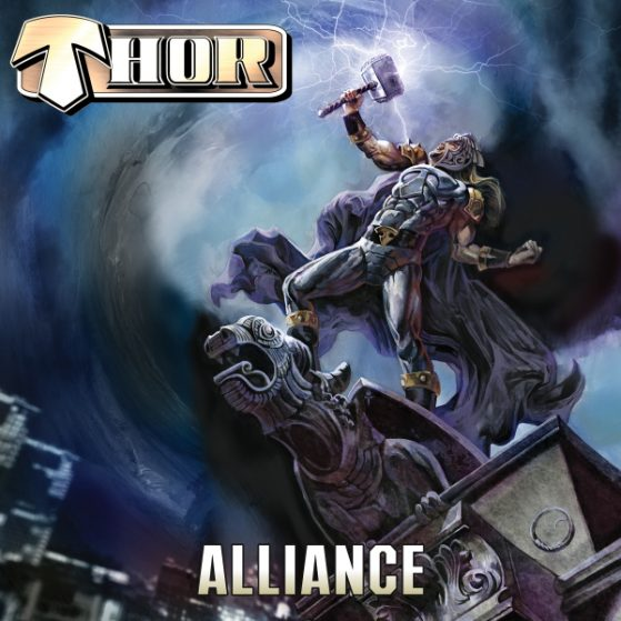 """SOILWORK's Björn """"Speed"""" Strid Unites With Metal God THOR On New Single From THOR's Highly Anticipated New Album ALLIANCE!"""