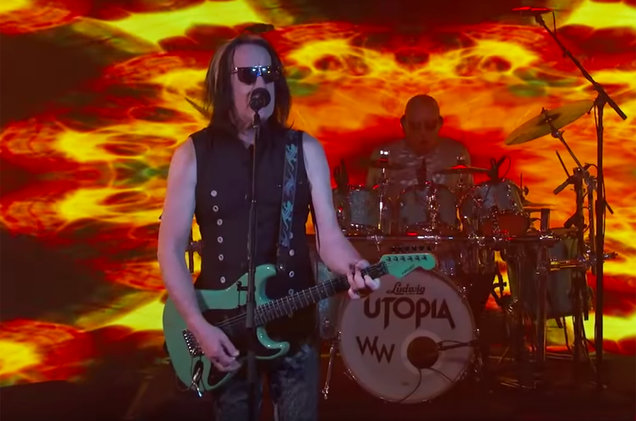 Todd Rundgren's Utopia Rock Out 'One World' On 'Jimmy Kimmel Live!