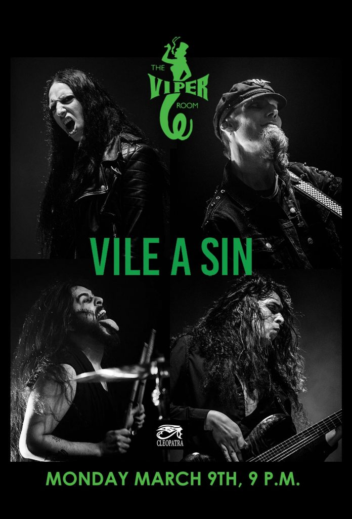 Vile A Sin - The Viper Room - March 9, 2020