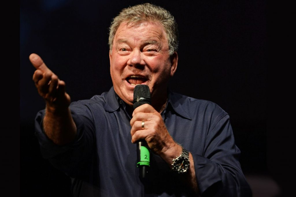 "William Shatner has unwrapped his version of ""Silent Night"" featuring Iggy Pop from the actor's Christmas LP 'Shatner Claus.' Larry Marano/Shutterstock"