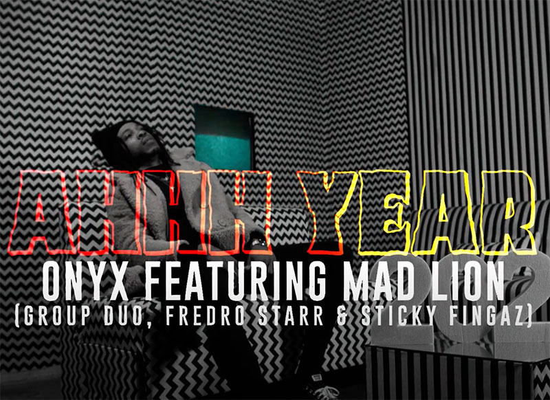 ONYX - Ahhh Year feat. Mad Lion (Official Lyric Video)