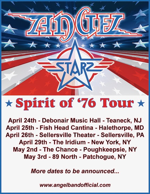 Angel 2020 Tour Dates