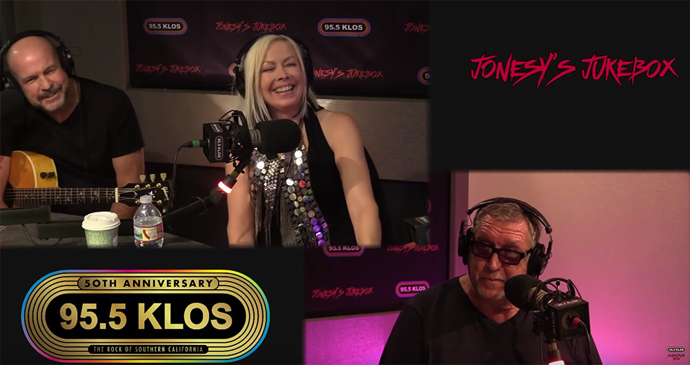 Berlin In-Studio on Jonesy's Jukebox