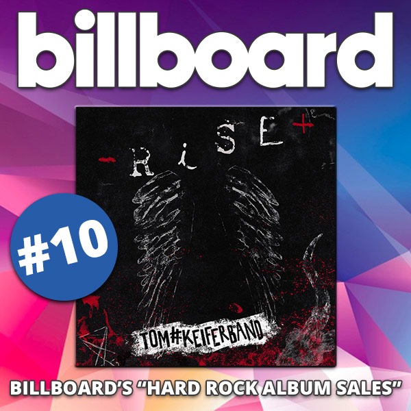 "Tom Keifer 'Rise' Lands At #10 on Billboard's ""Hard Rock Album Sales"""