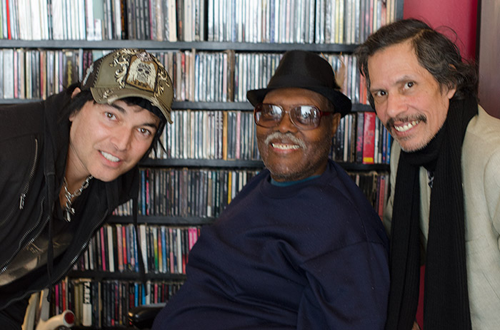 Big Jay McNeely & Shuggie Otis stop by Cleopatra Records