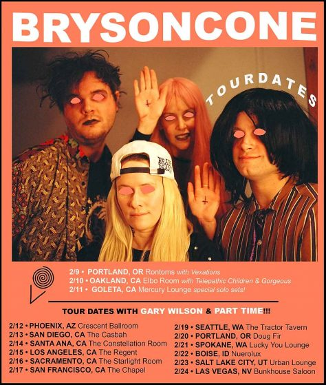 Bryson Cone - Tour Dates
