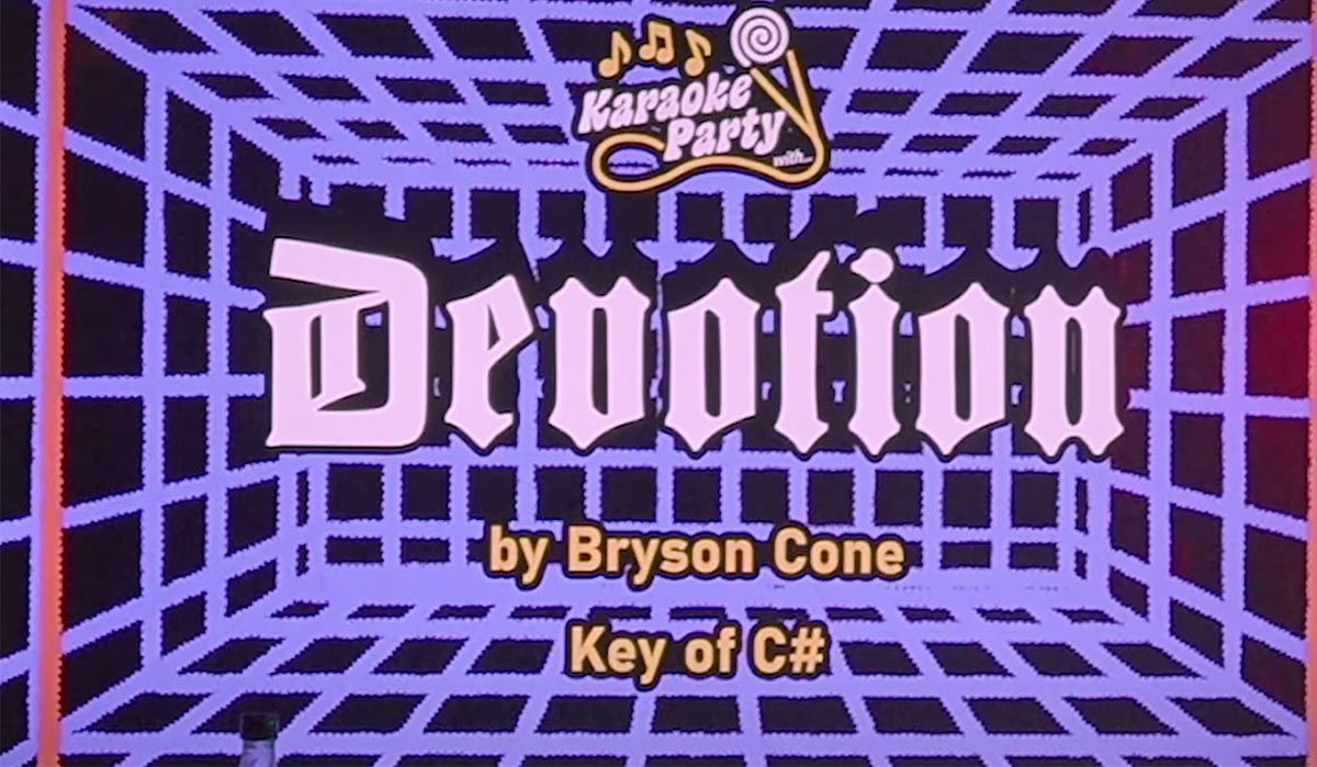 "Bryson Cone ""Devotion"