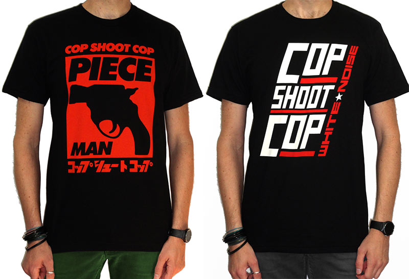 Cop Shoot Cop - Shirts - Cleopatra Records