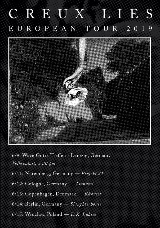 Creux Lies European Tour 2019