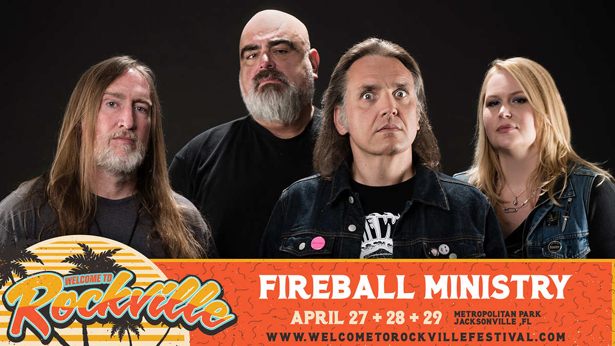 Fireball Ministry - Welcome to Rockville