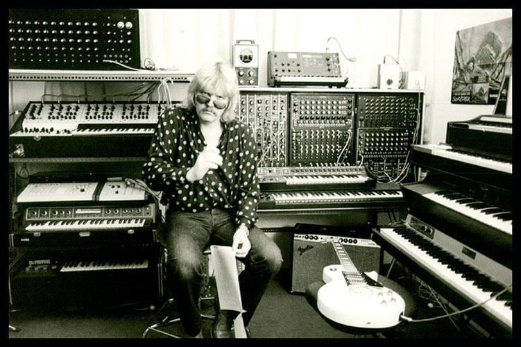R I P  Edgar Froese of Tangerine Dream 1944-2015 – Cleopatra Records