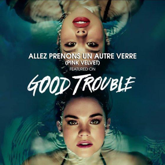 """""""Allez Prenons Un Autre Verre"""" by Pink Velvet on Good Trouble"""