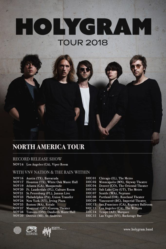 Holygram North American Tour 2018