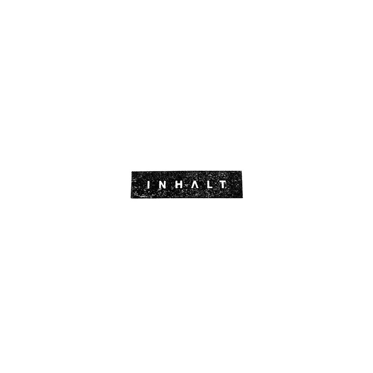 New dark electronic / minimal synth trio INHALT release via Part Times Punks, Cleopatra Records