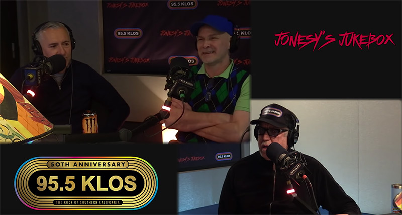 The Vandals drop by the Jukebox to talk music and have a good time with Jonesy!