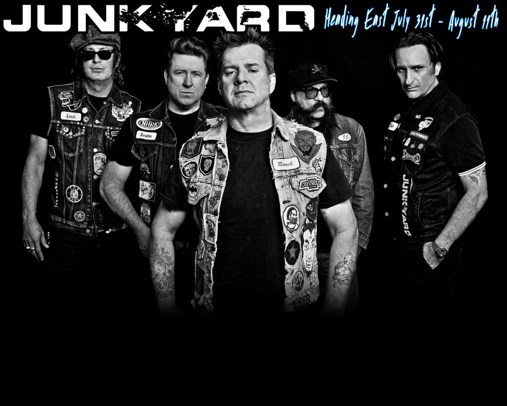 Junkyard Tour Dates