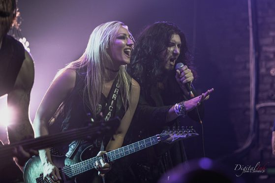 """Horror Rocker Kore Rozzik Joins Alice Cooper Guitarist Nita Strauss for an Electrifying Live Performance of the Alice Cooper Classic """"I'm Eighteen""""!"""
