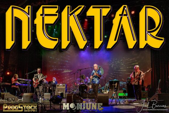 NEKTAR The Legendary Rock Band is touring the world in 2020