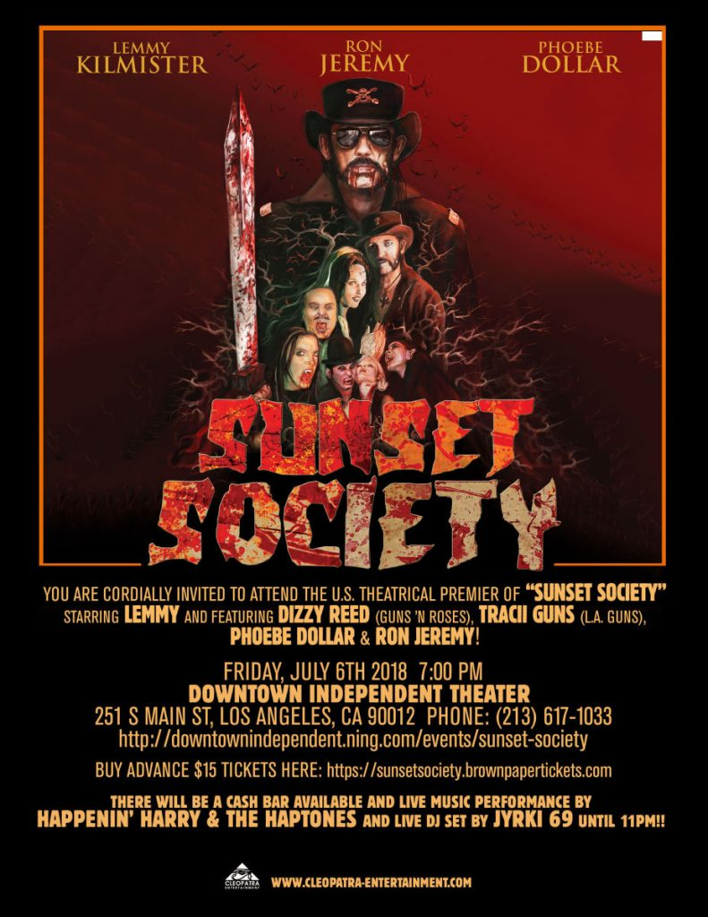 Sunset Society - Theatrical Premiere