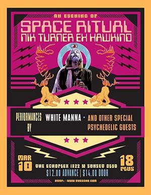 An Evening of Space Ritual (Nik Turner ex Hawkwind)