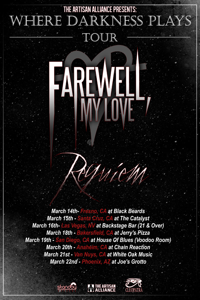 Requiem Announce Tour with Farewell, My Love!
