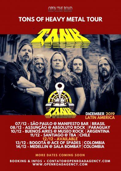 Tank - 2019 Tour Dates