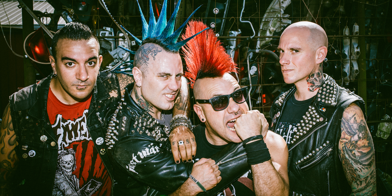 """The Casualties unleash new song """"Feed Off Fear"""""""