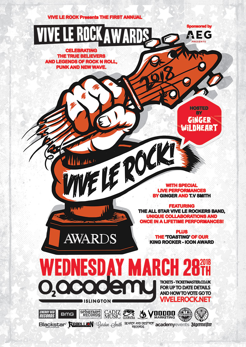 Vive Le Rock Awards!