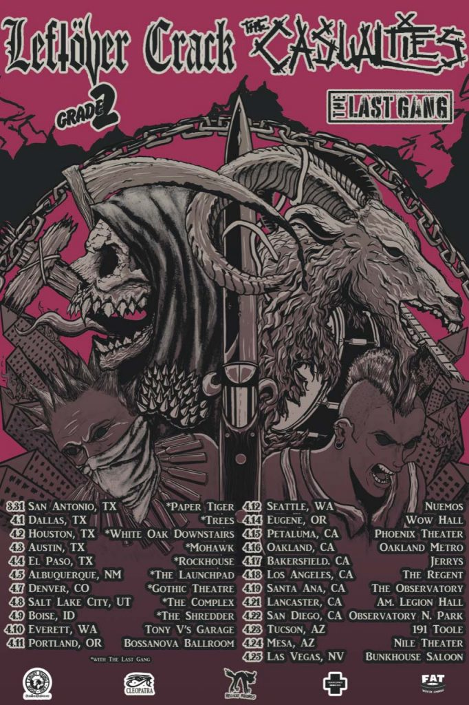 """Image result for The casualties tour"""""""