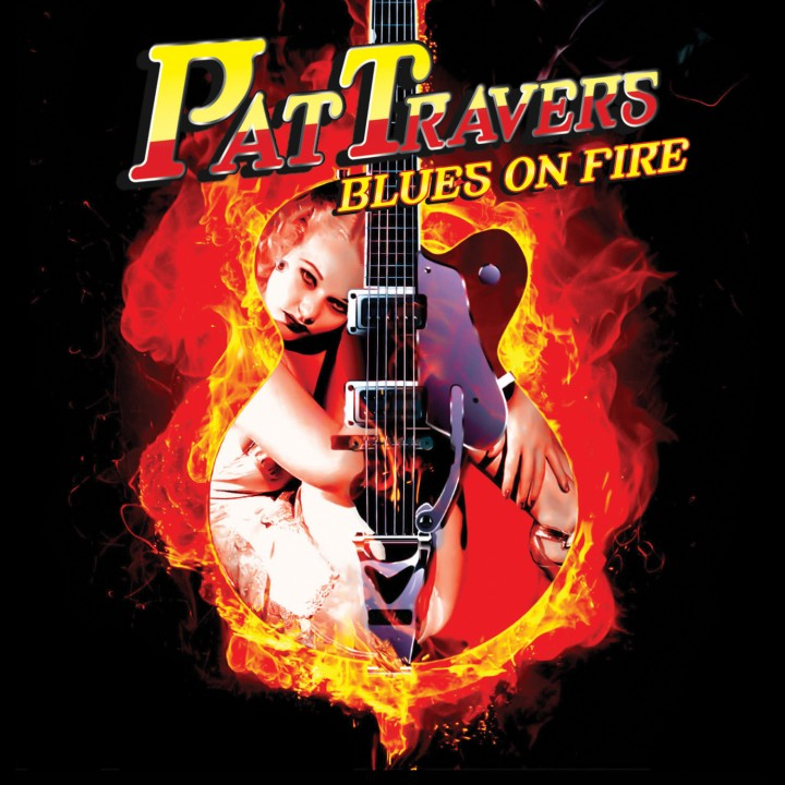 Pat Travers - Blues On Fire (LP)