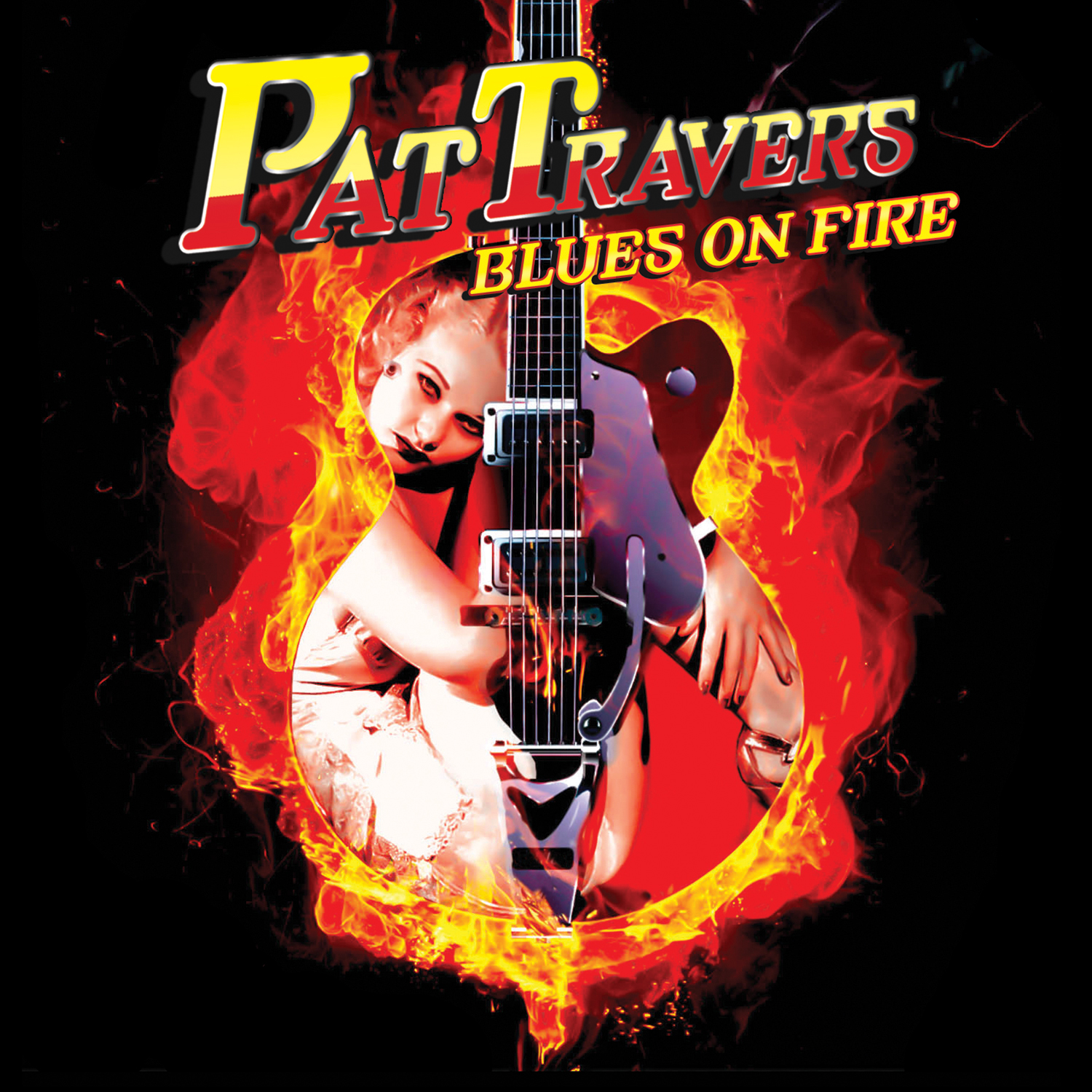 Pat Travers Blues On Fire Cd Cleopatra Records Store