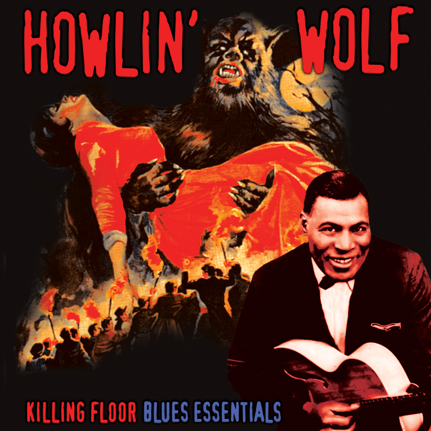 Howlin' Wolf - Killing Floor - Blues Essentials (LP)