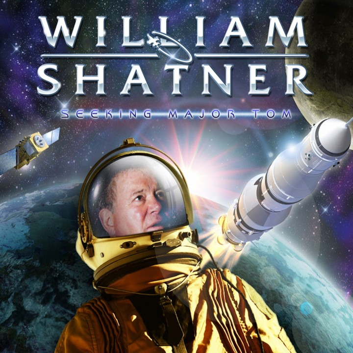 William Shatner - Seeking Major Tom (3 LP)