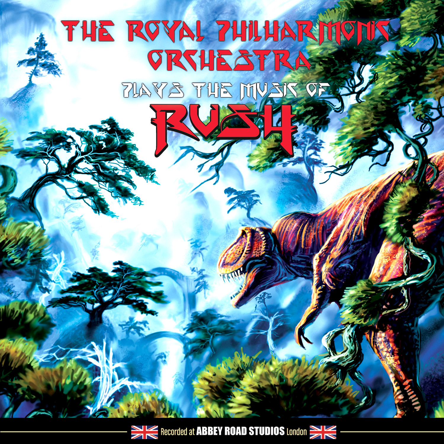 Royal Philharmonic Orchestra Plays The Music Of Rush (LP)