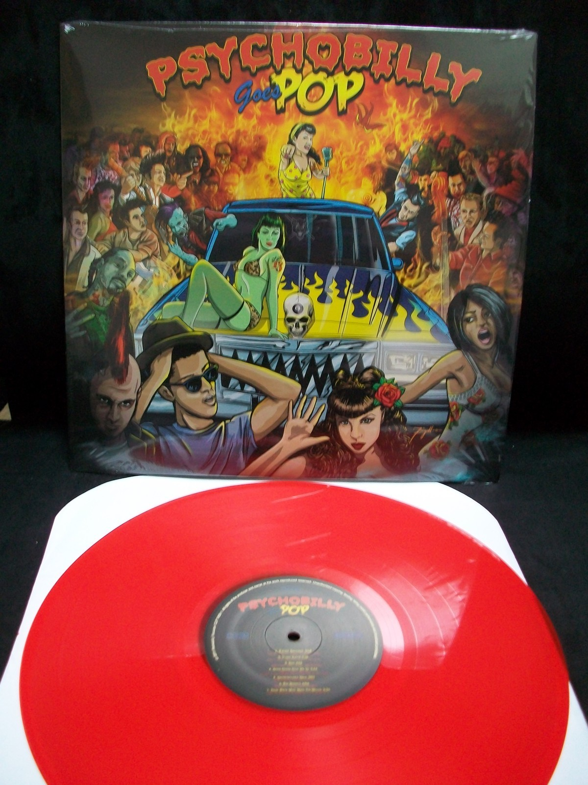 Psychobilly Goes Pop Lp Cleopatra Records Store