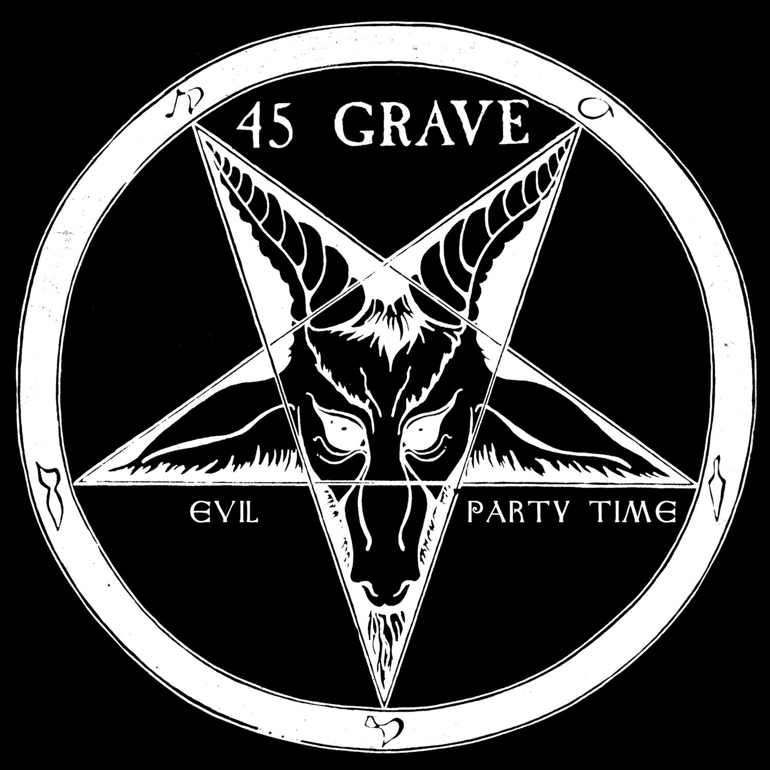 45 Grave Evil Party Time 7 Ep Cleopatra Records