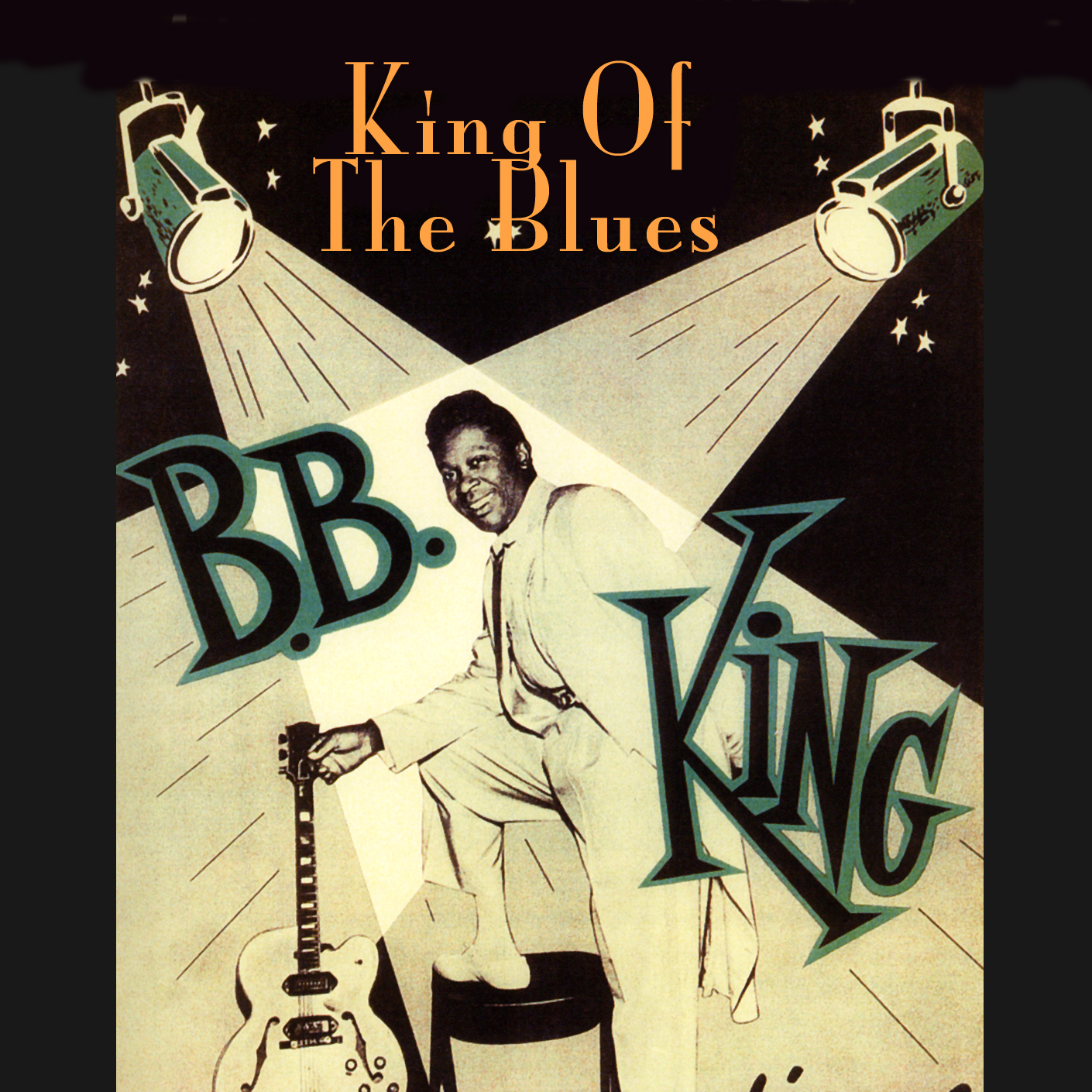 b b king king of the blues cd cleopatra records store. Black Bedroom Furniture Sets. Home Design Ideas